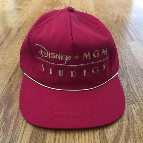 Disney Other - Men s vintage 1990 Disney MGM Strapback hat d1687f159a77